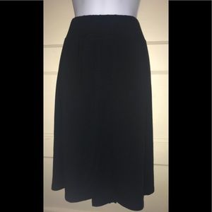 Cute black skirt plus size 2X